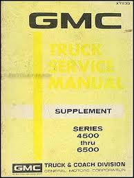 search 1975 GMC Tow Truck 1972 gmc 4500 6500 shop manual original supplement medium duty