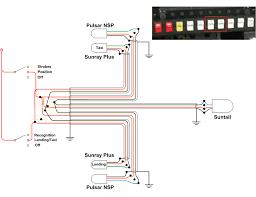 wiring diagram landing light wiring image wiring external lighting plan vaf forums on wiring diagram landing light