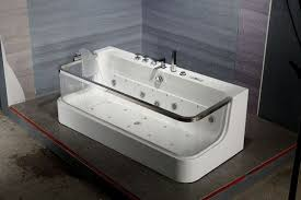 one person cleaning corner bathtub cost of jacuzzi bathtub