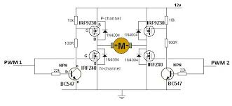 schematic h the wiring diagram h bridge schematic mosfet wiring diagram schematic