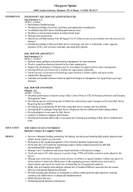 Sql Server Developer Resumes Sql Server Resume Samples Velvet Jobs