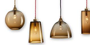 hand n light fixtures forest rothschild bickers gl pendant lights set of four