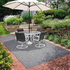 image of indoor outdoor rugs gray