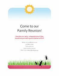 Family Reunion Flyer Templates Free Family Reunion Flyer Template Word Summer Breeze Family Reunion