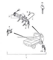 suzuki carry every dd51t, de51v ignition switch Daihatsu Hijet S65 Wiring Diagram Daihatsu Hijet S65 Wiring Diagram #43