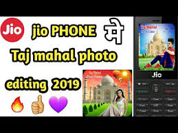 jio phone me aapne photo ke piche