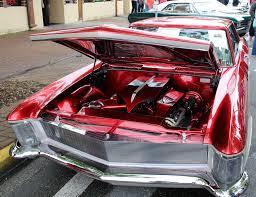 1963 Buick Riviera (engine bay, hood up) | 1963 Buick Rivier ...