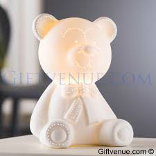 belleek living teddy bear l belleek pottery new baby gifts ireland