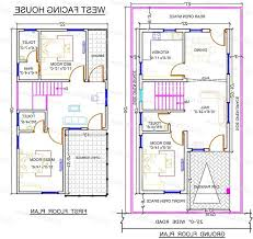30 x 60 house plans south facing elegant 20 x 60 house plans west facing house