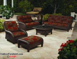 Fantastic Comfortable Patio Furniture The All Weather Outdoor Set Is
