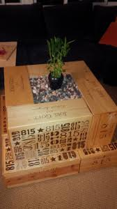 coffee table contemporary michaels wooden crates crate coffee
