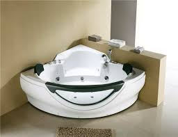 corner jetted bathtub hydromassage whirlpool air bubble m3150d image 1