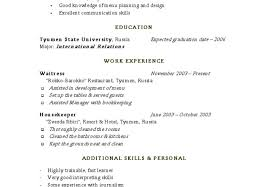 Housekeeper Resume Example Housekeepere Example Nanny Examples Hotel Housekeeping Manager 15
