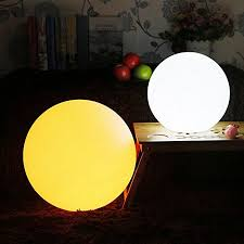 outdoor lighting balls. LED Ball Lights Waterproof Decor Outdoor Lamp Rechargeable And Remote  Control 16 RGB Colors Balls Outdoor Lighting Balls