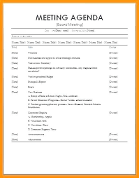 Daily Meeting Agenda Template Askwhatif Co