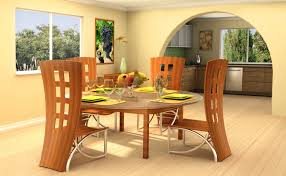 Oak Round Dining Table And Chairs Contemporary Round Dining Room Furniture Euskalnet Dining Room