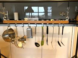 kitchen utensil hanging rack utensils racks and holders standing pot rack stainless steel utensil rack kitchen