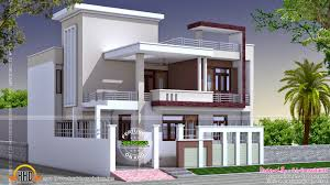 north indian square roof house kerala home design floor plans