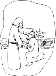De Blinde Bartimeus Kleurplaat Kleurplaten Jezus Clipart Geloven Is