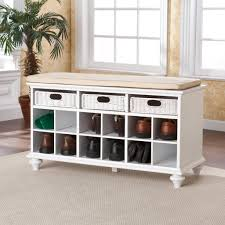 Entry benches shoe storage Ana White White Entry Bench With Shoe Storage Three Dimensions Lab White Entry Bench With Shoe Storage Entry Bench With Shoe Storage