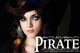 battled beauty pirate makeup tutorial