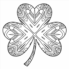 Small Picture Shamrock Coloring Page Coloring234