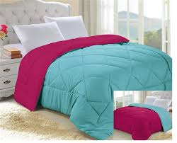 Caribbean Ocean/Knockout Pink Reversible College Comforter - Twin ... & Product Reviews Adamdwight.com