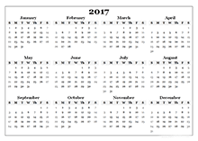 year calender 2017 yearly calendar templates download free printable calendar