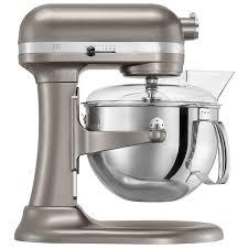 kitchenaid professional 600 lift bowl stand mixer 6qt 575 watt cocoa silver stand mixers best canada
