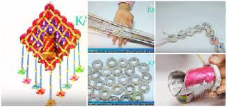 News Paper Flower Vase How To Make Newspaper Flower Vase Paper Weaving Crafts