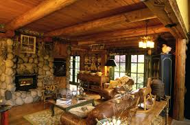 cabin style decor log unique design with decorations