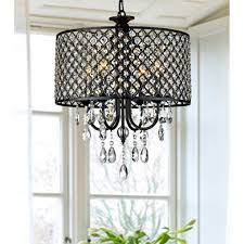 add a classy touch to your home decor with this round crystal lighting chandelier plus