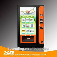 Touch Screen Vending Machines Unique Lcdtouch Screen Vending Machine With Large Media Display Buy