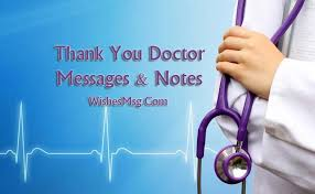 What To Say To Get A Doctors Note Thank You Messages For Doctor Appreciation Notes Wishesmsg