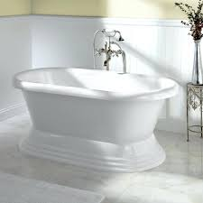 60 freestanding bathtub acrylic freestanding pedestal tub freestanding tubs bathtubs bathroom this comes in a inch size and inch size wyndham collection