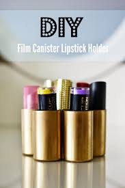 Film Canister Lipstick Holder