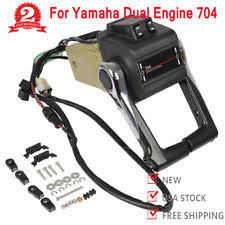 yamaha outboard remote control boat outboard engine twin binnacle remote control box for yamaha dual engine 704