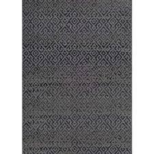 monaco pavers black 9 ft x 13 ft indoor outdoor area rug