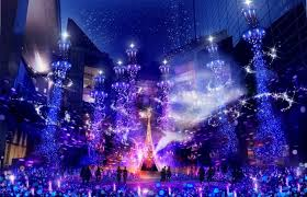 Shiodome Christmas Lights Caretta Shiodome Winter Illumination 2019 2020 Japan Web