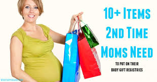 list of items needed for baby what second time moms actually need on their baby registry list