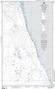 Nga Nautical Chart 63005 Bombay To Cochin Including The Lakshadweep