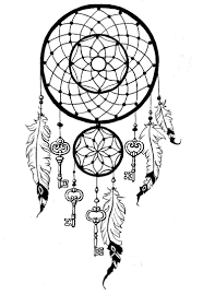 Small Picture Dreamcatcher keys Zen and Anti stress Coloring pages for