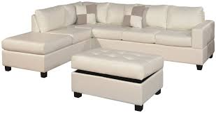 Living Room Ottoman With Storage Chaise Lounge Sofa Ada 3 Piece Double Chaise Lounge Furniture