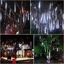 Where Can I Buy Fairy Lights In Nairobi Topist Falling Rain Decoration Lights Waterproof Led Meteor Shower Lights With 30cm 8 Tube 144 Leds Icicle Snow Fall String Cascading Lights For