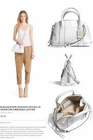 298 Coach  Bleecker Mini Preston Satchel - Signature Embossed Leather  Luxury Bags, Preston,