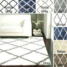 area rug 10x10 area rugs trellis rug 8 x contemporary grey square cotton home depot