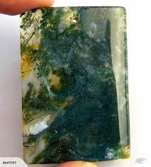 stunning green moss agate pendant