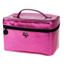 details about victoria s secret pink makeup bag weekender train cosmetic case