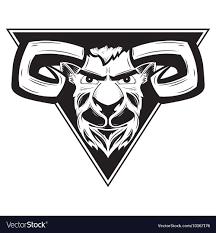 ram logo vector. Interesting Vector Logo With The Image Of A Ram Vector Inside Ram Vector