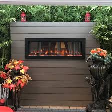 touchstone  sideline outdoorindoor electric fireplace